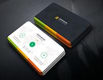Creative Multicolor Business Card
