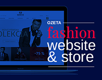 OZETA fashion website and store