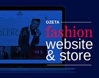 OZETA fashion website and store