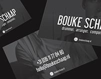 Bouke Schaap - Business cards