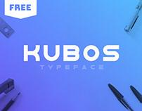 KUBOS - FREE MODERN GEOMETRIC SANS SERIF