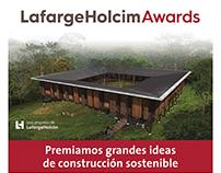 Afiche LafargeHolcim Awards (Holcim Argentina)