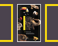 National Geographic Photo Ark Poster