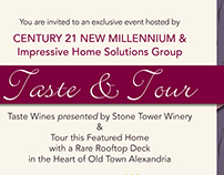 Taste & Tour - House Viewing Promotion