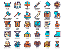 Fancy Vikings Game Icons