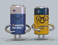 Разработка персонажей для VARTA