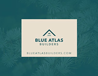 Blue Atlas Builder Logo Concept