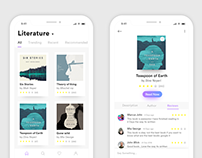 Ebook App Ui Design