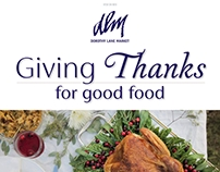 Thanksgiving Edition Fresh News E-Blast
