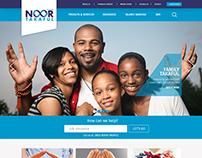 Noor Takaful Website UI/UX Design