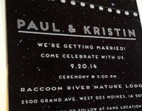 Lantern Themed Wedding Invitation