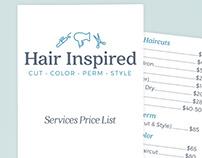 Brand Design for Hair Salon