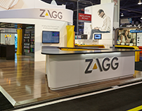 Zagg CES Booth - 2015.