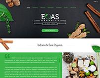 Web Design for EOAS Organics - Sri Lanka