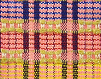 reversible hand woven fabric collection