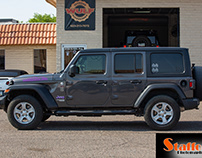 """Patricia's Jeep """"Jezebel"""" Lift Before & After"""