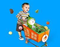 Tantrum Toddler | Push & Pull Toy