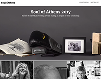 Senior Capstone Website - Soul of Athens