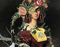 Collage Artwork 151-159