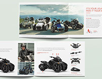 Can-Am Spyder — Mini Brochure Véhicules & Produits 2017