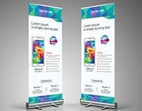 Corporate Business Roll-up Banner- 2