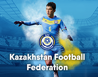 Kazakhstan Football Federation - Design-support