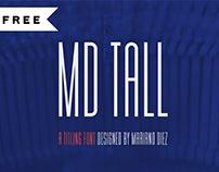 FREE | MD Tall Font