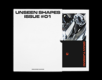 Editorial Design Unseen Shapes Issue #01