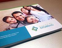 Clínica de Otorrino - Folder