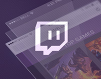 Twitch Redesign | Responsive