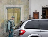 A little bit of street-art... Murals of San Sperate