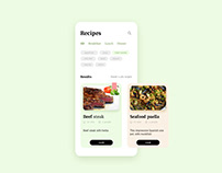 Recipes application