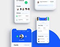 Wallet app - UI Design