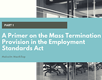 Provision of the Employment Standards Act Part 1