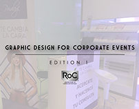 GRAPHIC DESIGN FOR CORPORATE EVENTS - EDITION 1 - ROC