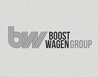 Айдентика группы компаний Boost Wagen