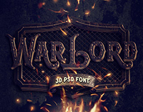 War Lord PSD Alphabet