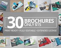 30 Creative Brochure Templates