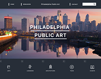 Data visualization - Philadelphia Public Art