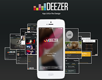 Deezer Re-design for Mobile Platforms