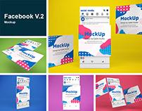 Facebook V.2 Mockup