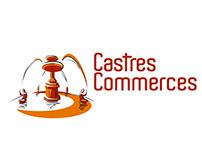 Castres commerces logo