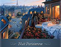 """""""Nuit Parisienne"""" Valentines day Hasta la Pasta"""