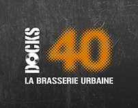 DOCKS 40 - Restaurant Bar à Lyon Confluence