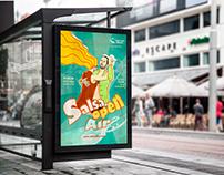 """Poster """"Salsa Open Air"""""""