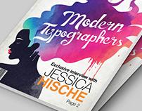 Res Magazine: Jessica Hische Mockup