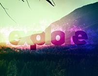 Text: Explore