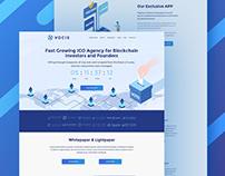 Crypto Landing page