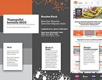 Vappupallot eCommerce early designs