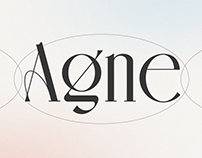 Agne - Display Font